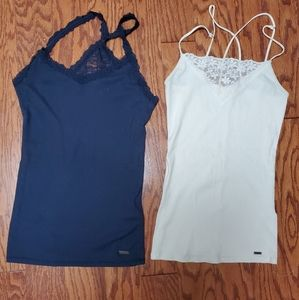 2 Hollister tank tops size small